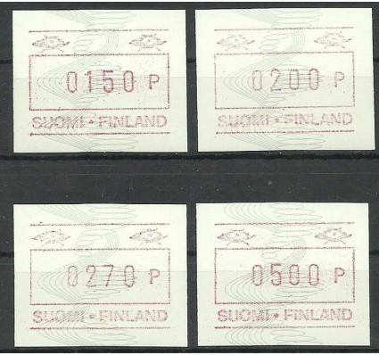 Znaczek Finlandia 1989 Mi aut 7 Czyste **
