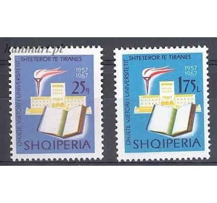 Albania 1967 Mi 1188-1189 Czyste **