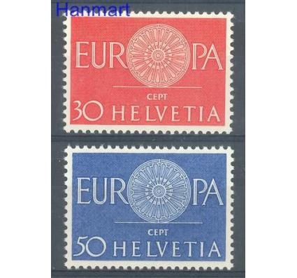 Znaczek Szwajcaria 1960 Mi 720-721 Czyste **