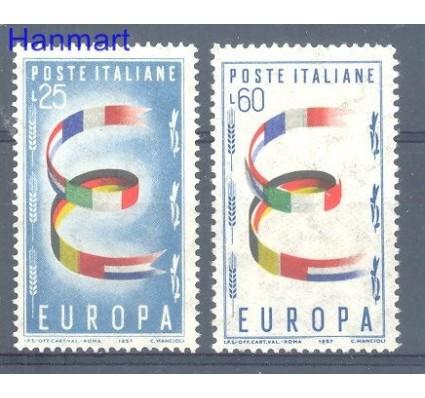 Znaczek Włochy 1957 Mi 992-993 Czyste **