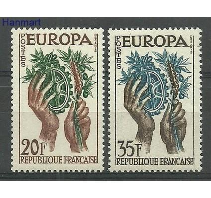 Znaczek Francja 1957 Mi 1157-1158 Czyste **