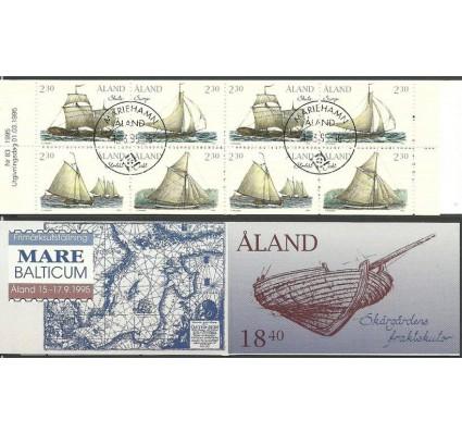 Znaczek Wyspy Alandzkie 1995 Mi mh 3 Stemplowane