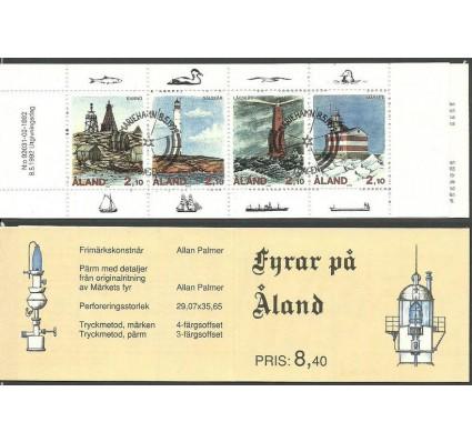 Znaczek Wyspy Alandzkie 1992 Mi mh 1 Stemplowane