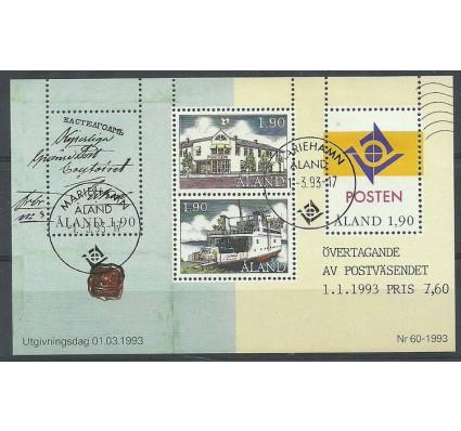 Znaczek Wyspy Alandzkie 1993 Mi bl 2 Stemplowane