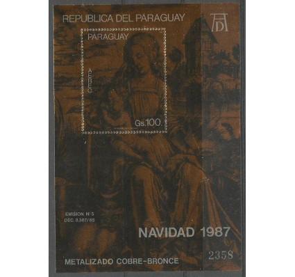 Znaczek Paragwaj 1987 Mi bl 445 Czyste **