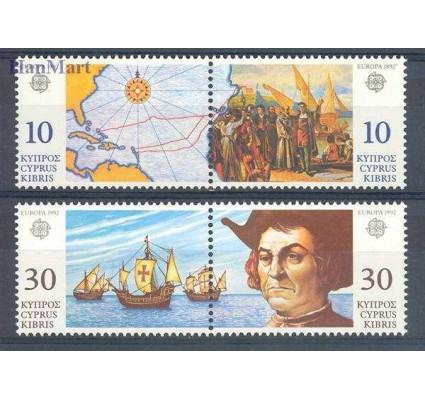 Znaczek Cypr  1992 Mi 790-793 Czyste **