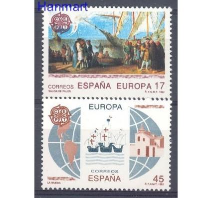 Znaczek Hiszpania 1992 Mi 3064-3065 Czyste **