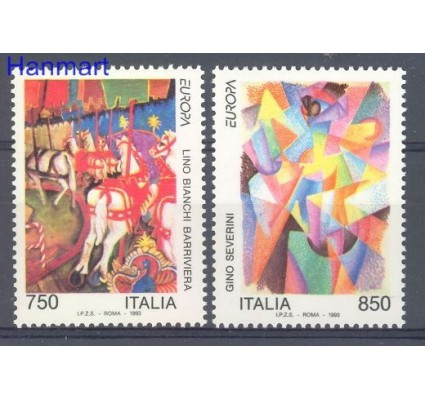 Znaczek Włochy 1993 Mi 2279-2280 Czyste **