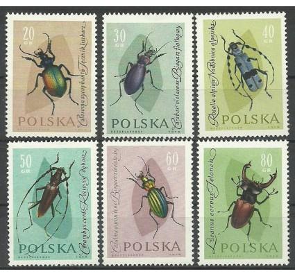 Znaczek Polska 1961 Mi 1277-1282 Fi 1132-1137 Czyste **