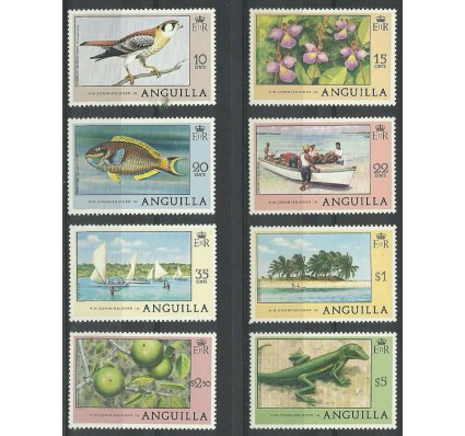 Znaczek Anguilla 1978 Mi 300-304+306-308 Czyste **