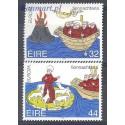 Irlandia 1994 Mi 855-856 Czyste **