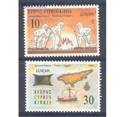 Znaczek Cypr  1994 Mi 819-820 Czyste **