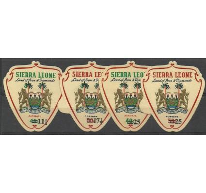 Znaczek Sierra Leone 1967 Mi 381+384-386 Czyste **