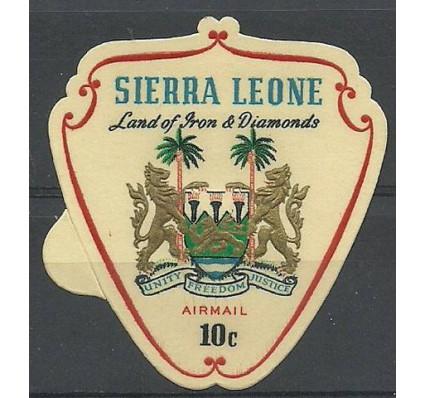 Znaczek Sierra Leone 1967 Mi 402 Czyste **