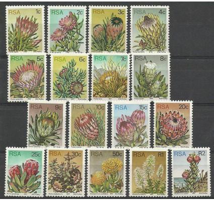 Znaczek Republika Południowej Afryki 1977 Mi 512-528 Czyste **