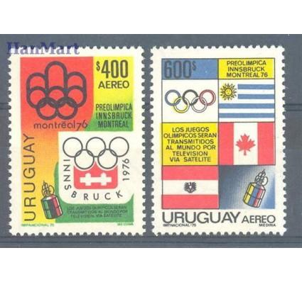 Znaczek Urugwaj 1975 Mi 1348-1349 Czyste **