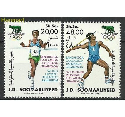 Znaczek Somalia 1987 Mi 398-399 Czyste **