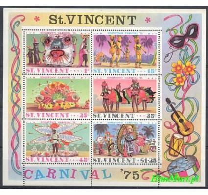 Znaczek St. Vincent 1975 Mi bl 4 Czyste **