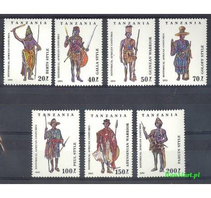 Znaczek Tanzania 1993 Mi 1685-1691 Czyste **