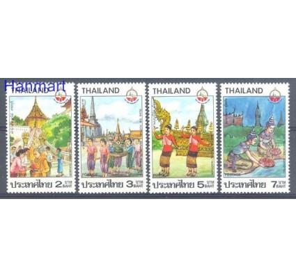 Znaczek Tajlandia 1987 Mi 1210-1213 Czyste **