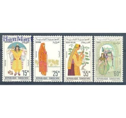 Znaczek Tunezja 1963 Mi 623-626 Czyste **