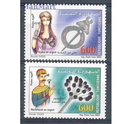 Znaczek Tunezja 2003 Mi 1579-1580 Czyste **