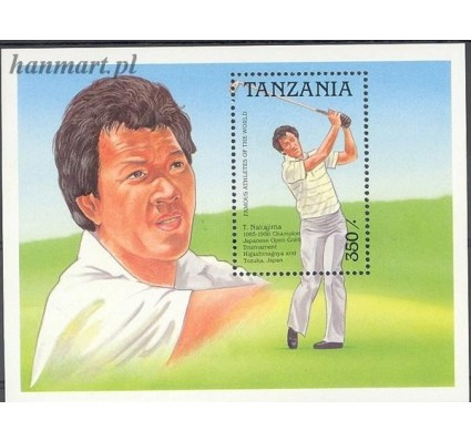 Znaczek Tanzania 1989 Mi bl 91 Czyste **