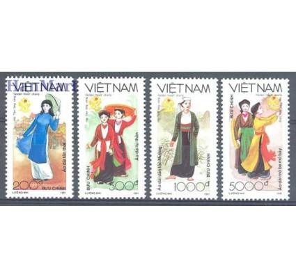 Znaczek Wietnam 1991 Mi 2298-2301 Czyste **