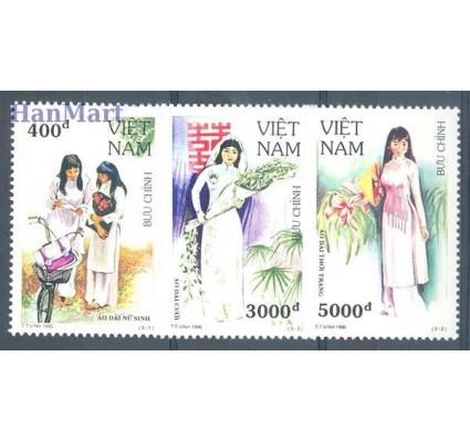 Znaczek Wietnam 1995 Mi 2663-2665 Czyste **