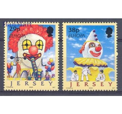 Znaczek Jersey 2002 Mi 1020-1021 Czyste **