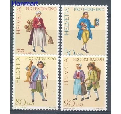 Znaczek Szwajcaria 1990 Mi 1417-1420 Czyste **