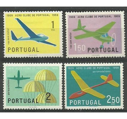 Znaczek Portugalia 1960 Mi 883-886 Z podlepką *