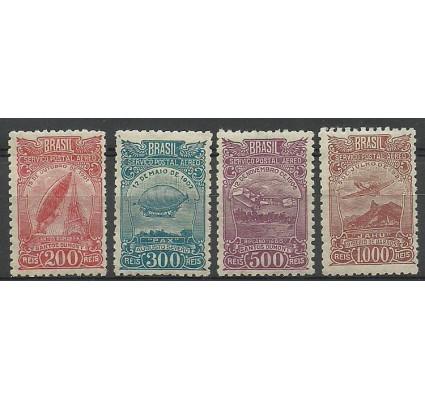Znaczek Brazylia 1929 Mi 319-322 Z podlepką *