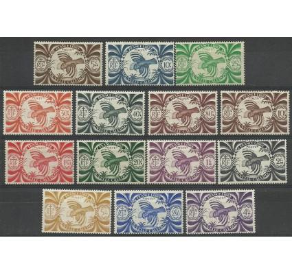 Znaczek Nowa Kaledonia 1942 Mi 272-285 Czyste **