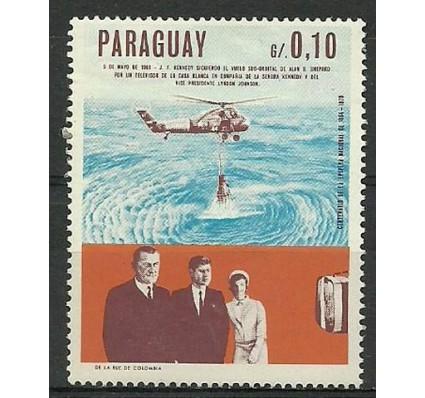 Znaczek Paragwaj 1967 Mi 1757 Czyste **