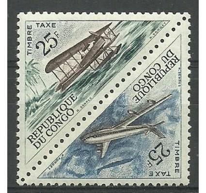 Znaczek Kongo 1961 Mi por11-12 Czyste **