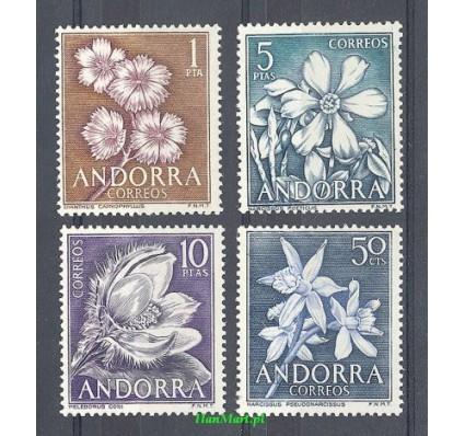 Znaczek Andora Hiszpańska 1966 Mi 67-70 Czyste **