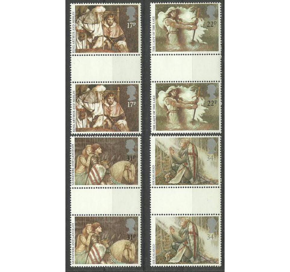 Wielka Brytania 1985 Mi 1039-1042 Czyste **