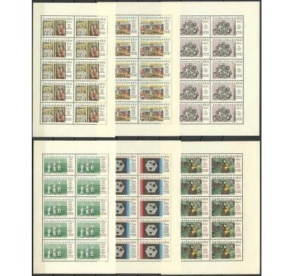 Znaczek Czechosłowacja 1967 Mi ark 1694-1699 Czyste **