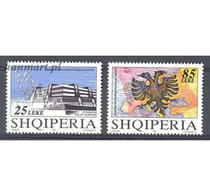 Znaczek Albania 1995 Mi 2567-2568 Czyste **