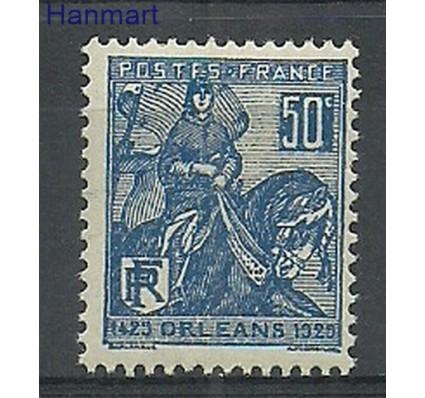 Znaczek Francja 1929 Mi 237 Z podlepką *