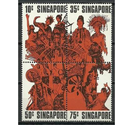 Znaczek Singapur 1973 Mi 182-185 Czyste **