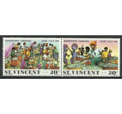 Znaczek St. Vincent 1980 Mi 579-580 Czyste **