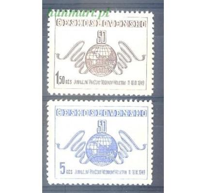 Znaczek Czechosłowacja 1949 Mi 583-584 Czyste **