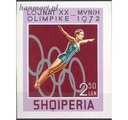 Znaczek Albania 1972 Mi bl 45 Czyste **
