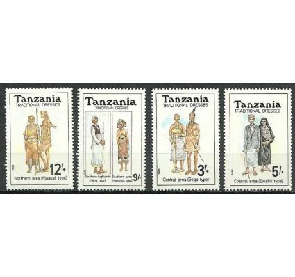 Znaczek Tanzania 1992 Mi 1224-1227 Czyste **