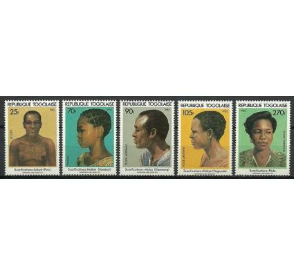 Znaczek Togo 1985 Mi 1860-1864 Czyste **