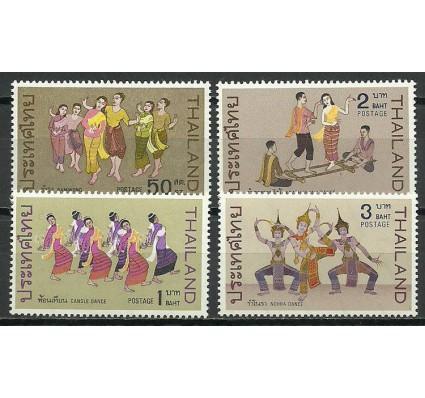 Znaczek Tajlandia 1969 Mi 544-547 Czyste **
