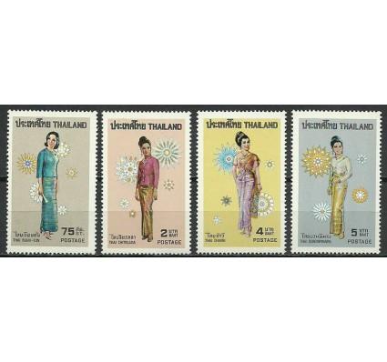 Znaczek Tajlandia 1972 Mi 639-642 Czyste **