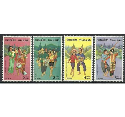 Znaczek Tajlandia 1977 Mi 845-848 Czyste **